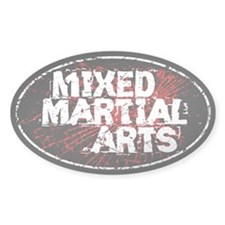 Mixed Martial Arts Black Decal