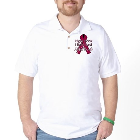 Multiple Myeloma I Fight Back Golf Shirt
