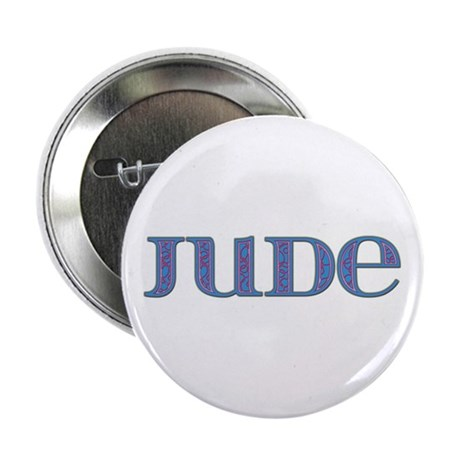 Jude Blue Glass Button