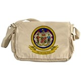 Maryland Seal Messenger Bag