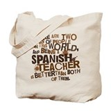Spanish Teacher (Funny) Gift Tote Bag