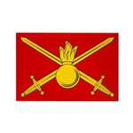 Russian Ground Forces Banner Rectangle Magnet