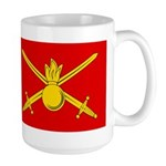 Russian Ground Forces Banner Large Mug