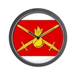 Russian Ground Forces Banner Wall Clock