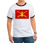 Russian Ground Forces Banner Ringer T