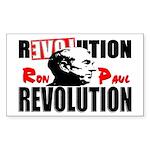 """Ron Paul Revolution"" Sticker (Rectangle"