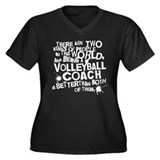 Volleyball Coach (Funny) Gift Women's Plus Size V-