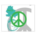 OYOOS Peace design Small Poster