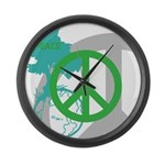 OYOOS Peace design Large Wall Clock
