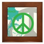 OYOOS Peace design Framed Tile
