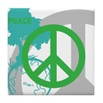 OYOOS Peace design Tile Coaster