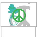 OYOOS Peace design Yard Sign
