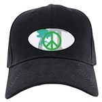 OYOOS Peace design Black Cap