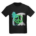 OYOOS Peace design Kids Dark T-Shirt