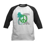 OYOOS Peace design Kids Baseball Jersey