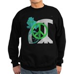 OYOOS Peace design Sweatshirt (dark)