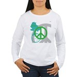 OYOOS Peace design Women's Long Sleeve T-Shirt