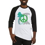 OYOOS Peace design Baseball Jersey