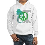 OYOOS Peace design Hooded Sweatshirt