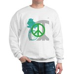 OYOOS Peace design Sweatshirt