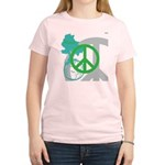 OYOOS Peace design Women's Light T-Shirt