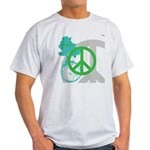 OYOOS Peace design Light T-Shirt