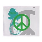 OYOOS Peace design Throw Blanket