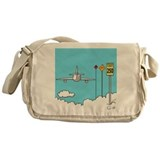 """Fly Safe"" Messenger Bag"