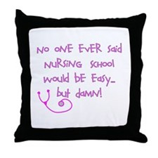 Nursing Student IV 2011 Throw Pillow