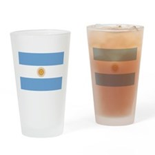 Cute Argentina flag Drinking Glass