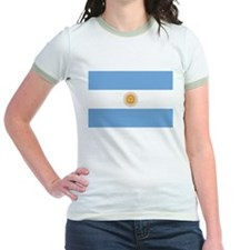 Unique Argentina flag T