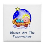 Peacemakers W/Child Gifts Tile Coaster