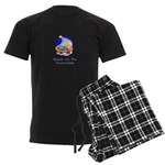 Peacemakers W/Child Gifts Men's Dark Pajamas