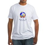 Peacemakers W/Child Gifts Fitted T-Shirt