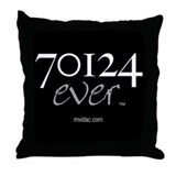 70124 ever Throw Pillow