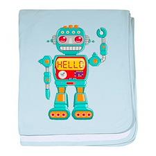 Hello Robo baby blanket