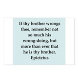 Wisdon of Epictetus Postcards (Package of 8)