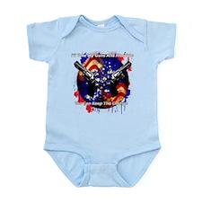 Guns And Freedom Infant Bodysuit