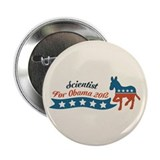 Scientist for Obama 2.25&quot; Button (100 pack)
