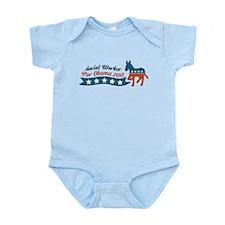Social Worker for Obama Infant Bodysuit