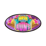 Pink Super Aunt Patches