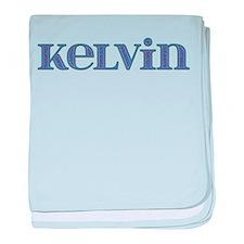Kelvin Blue Glass baby blanket