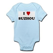 I Love Suzhou Infant Creeper