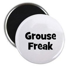 "Grouse Freak 2.25"" Magnet (10 pack)"