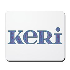 Keri Blue Glass Mousepad