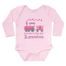 Pink Ribbon Remembering Grandma Long Sleeve Infant