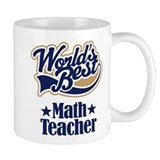 Math Teacher Gift Small Mug