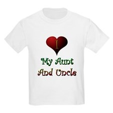 Aunt and Uncle Love Me Kids T-Shirt