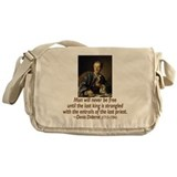 No Kings, No Priests Messenger Bag