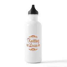 Knitting Lover Water Bottle